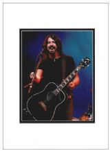 Dave Grohl Autograph Signed Photo